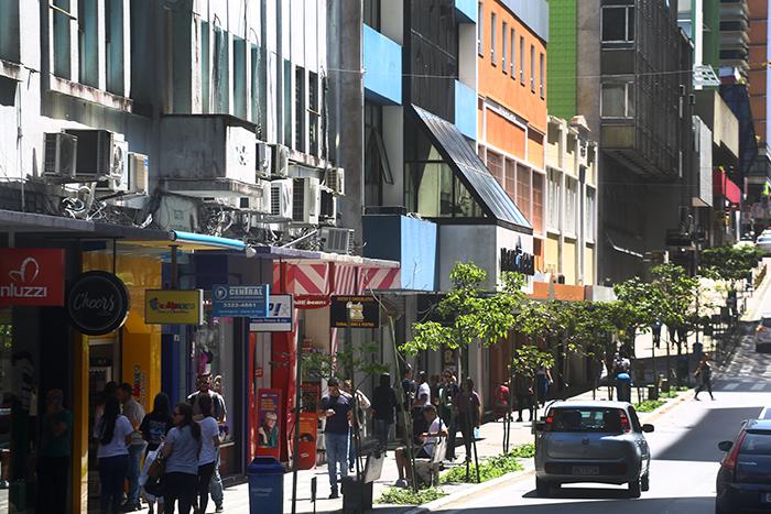 Centro de Florianópolis em 29 de setembro